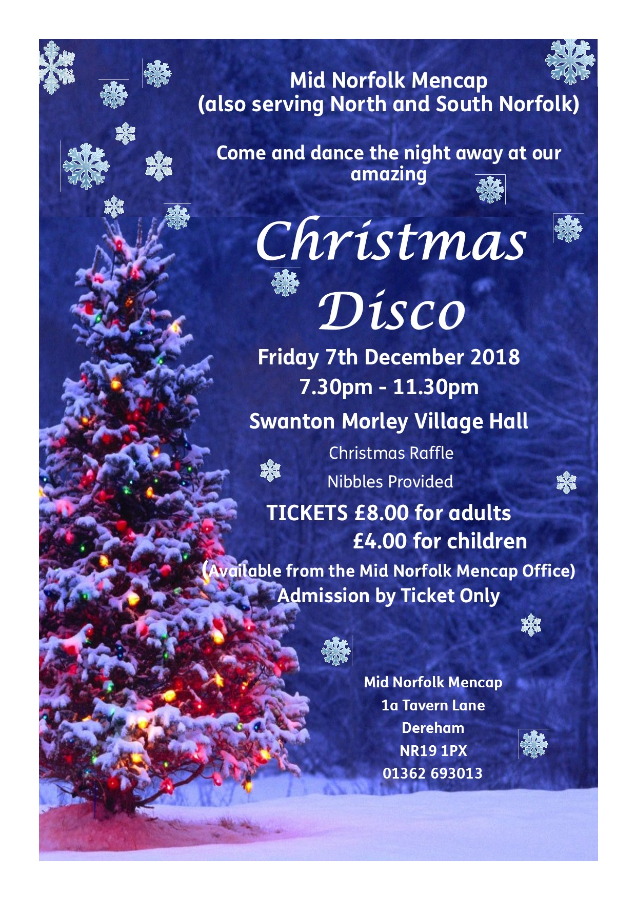 2018 Christmas Disco image